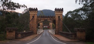 Hampden Bridge, kangaroo valley - first opened in may 1898. And looking very fine indeed.